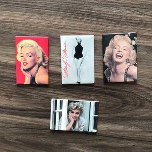 Marilyn Monroe magnet set